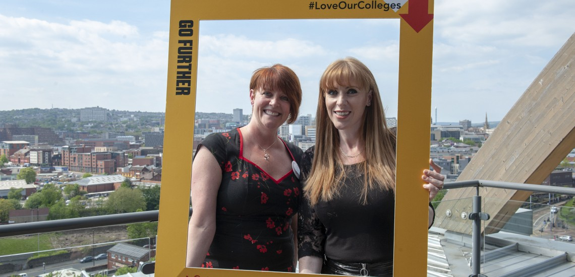 Shadow Secretary of State for Education backs Love Our Colleges campaign