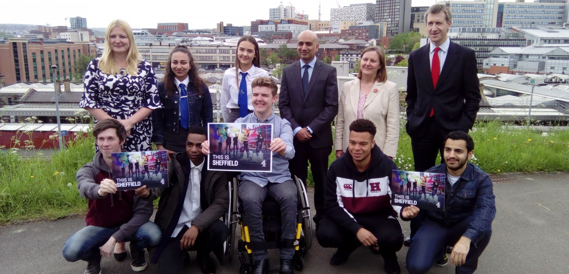 Sheffield College Students Back City's Channel 4 Bid