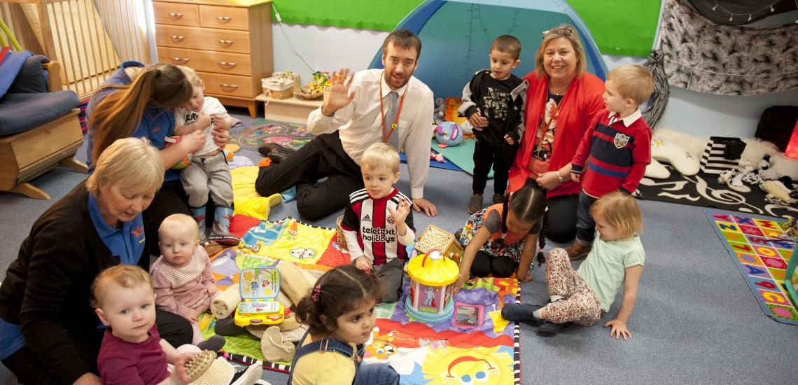 College's City Nursery Graded 'Good' by Ofsted