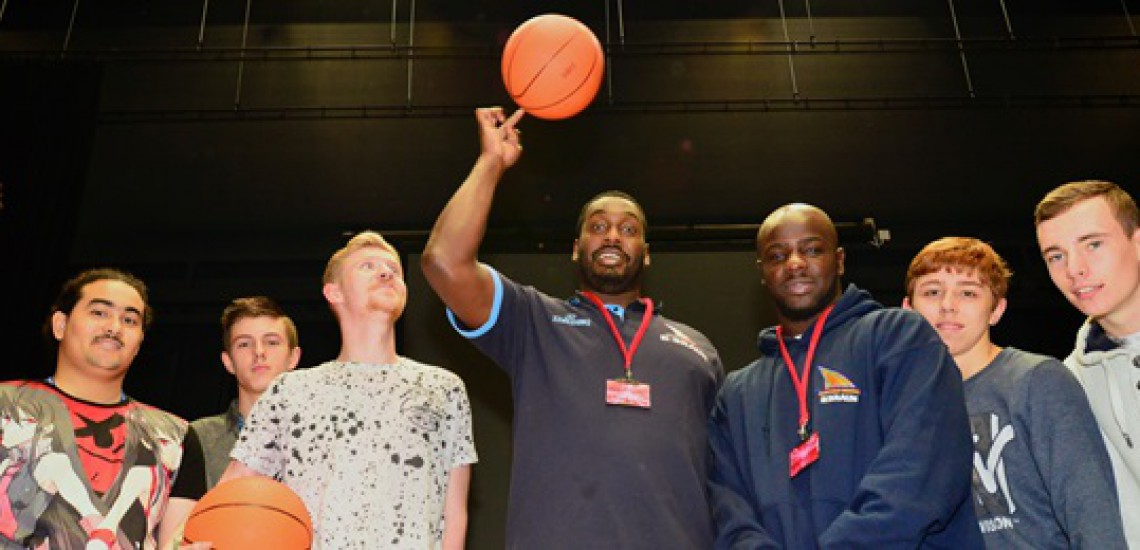 Sheffield Sharks Inspire High School Musical Show