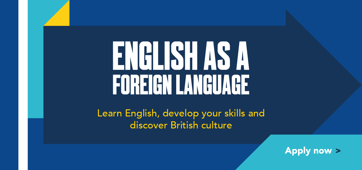 English as a Foreign Language courses