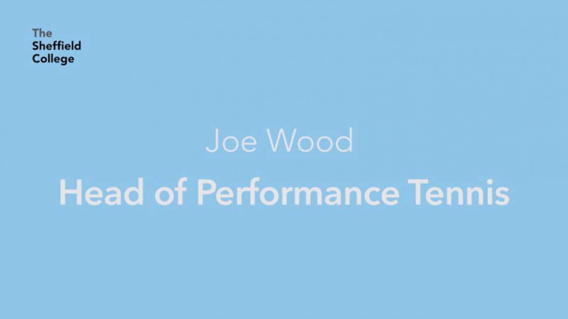 Tennis Coach - Joe Wood @ The Academy