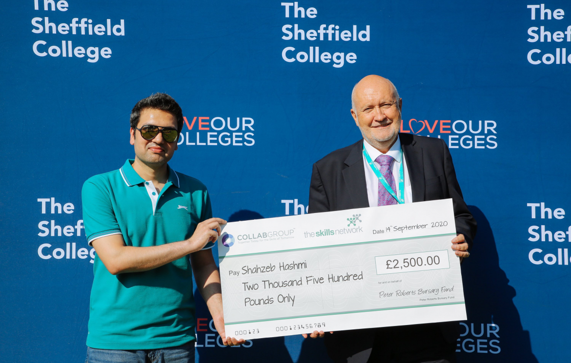 Sheffield College student wins national bursary