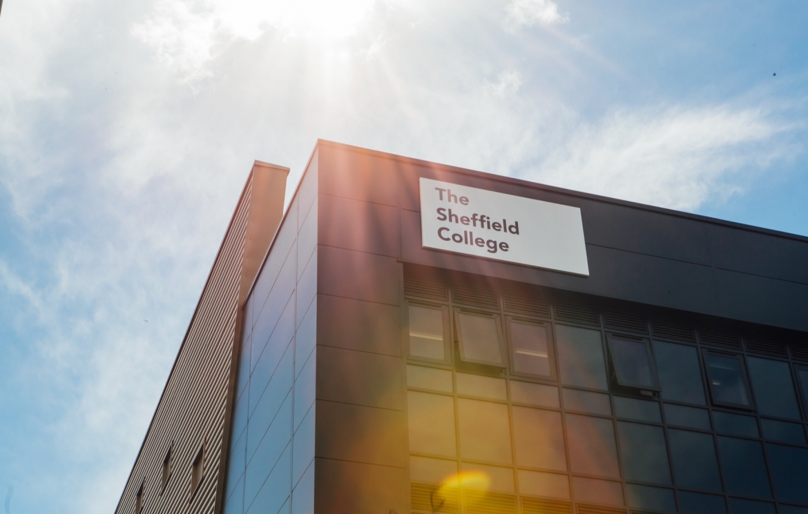 The Sheffield College is making reasonable progress, according to the latest Ofsted report