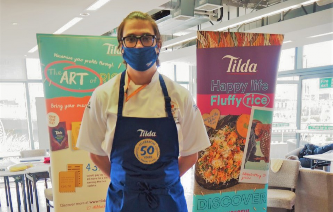 Sheffield College student wins top industry competition and celebrity chef mentoring