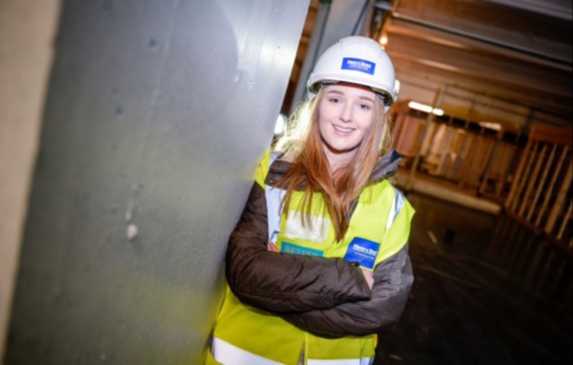 HNC Alumni Lydia advocates women in Construction
