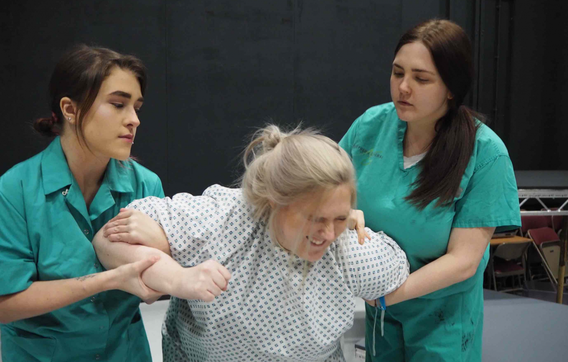 Sheffield College degree students stage their play in a week series