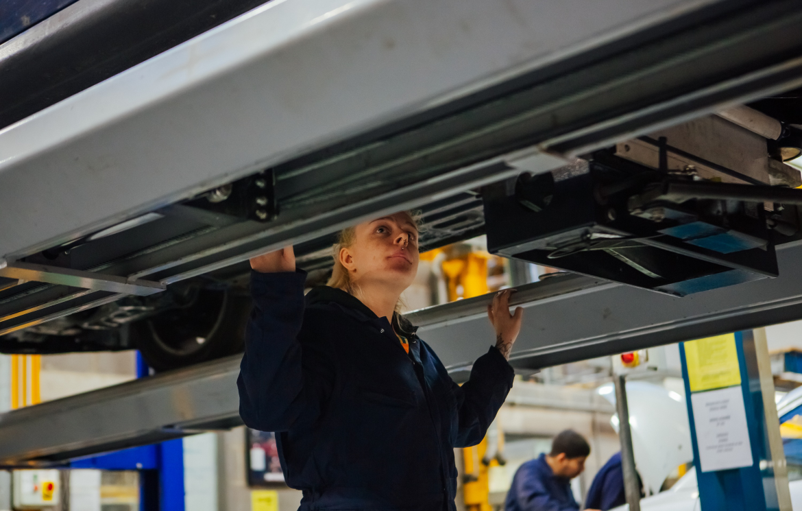 The top 3 benefits of studying an Automotive study programme at The Sheffield College