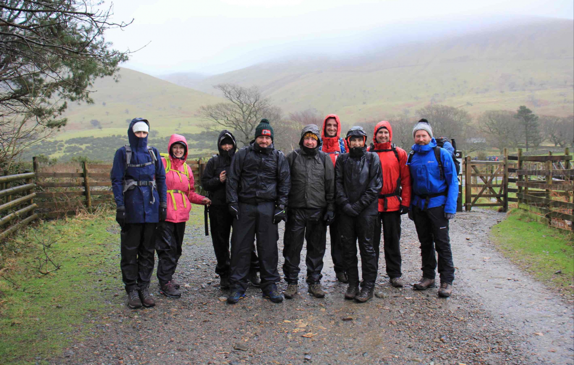 College staff to tackle Three Peaks Challenge for charity