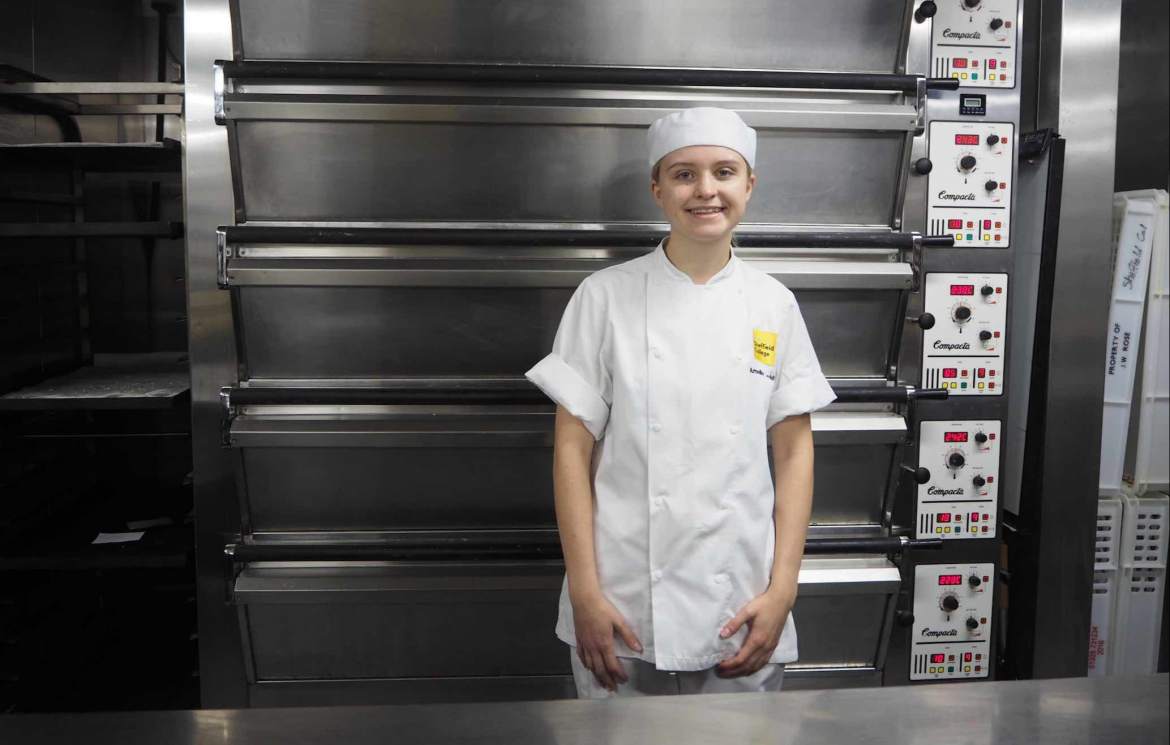 The Sheffield College-trained baker is a Rising Star Award 2021 finalist
