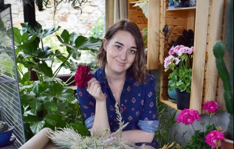 Floristry student celebrates industry award win