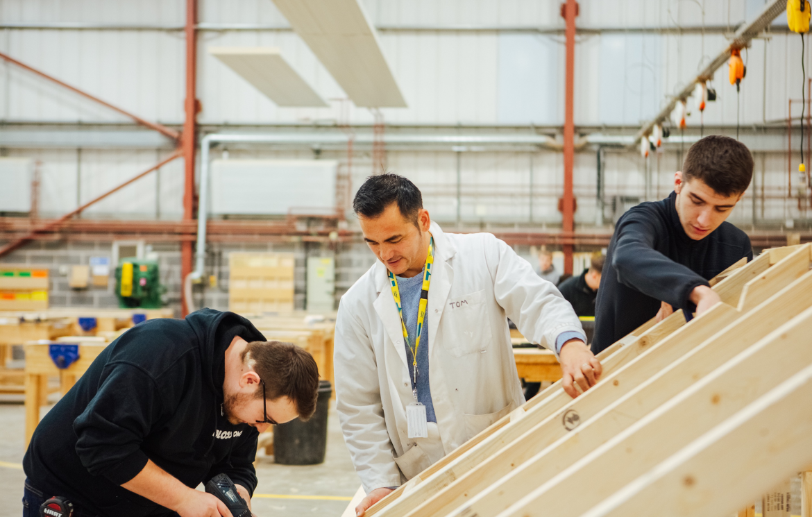 New academy backed by UK construction company Kier opens to students