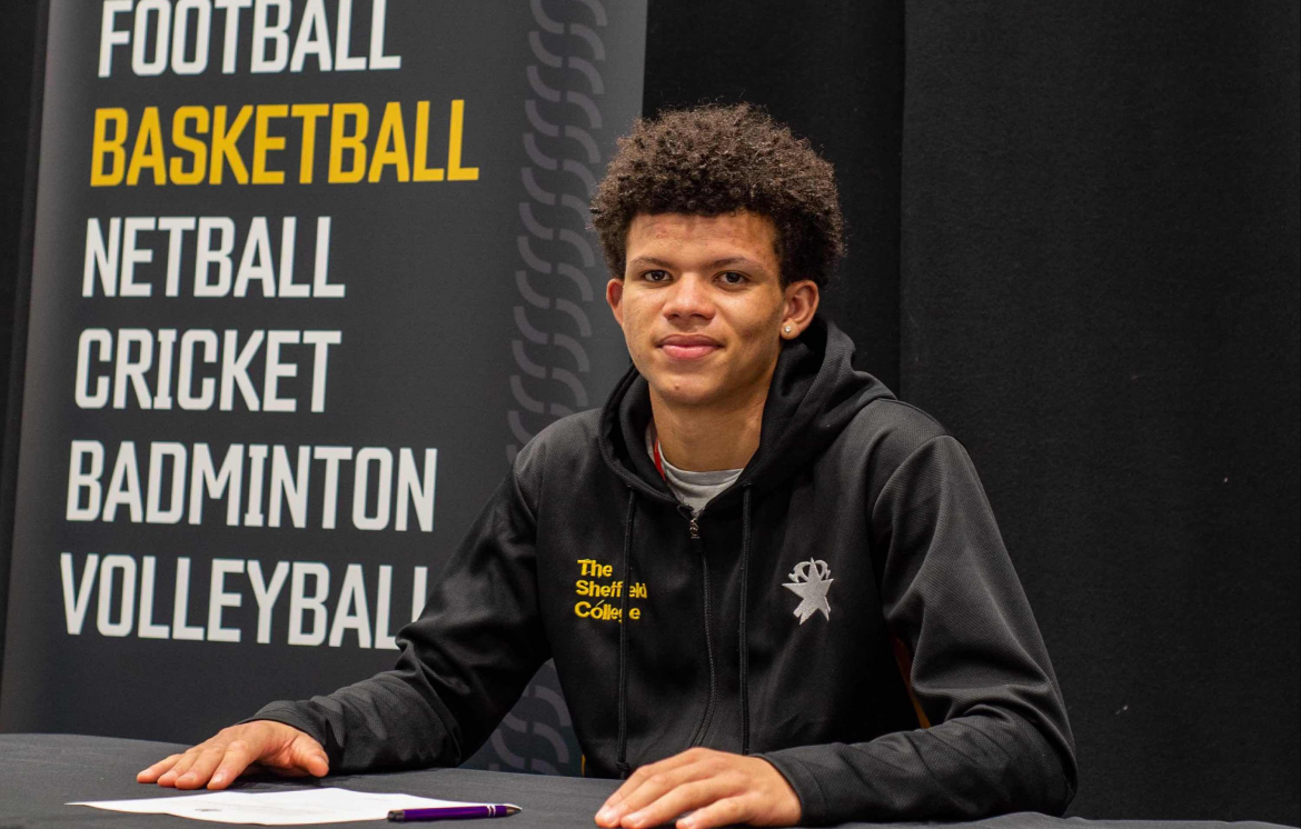 Talented basketball player nets professional contract in Italy