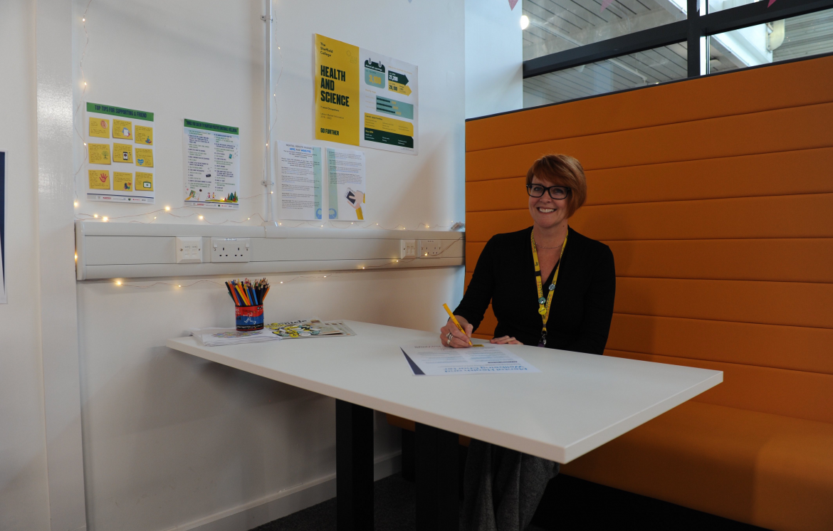 The Sheffield College signs up to new mental health scheme