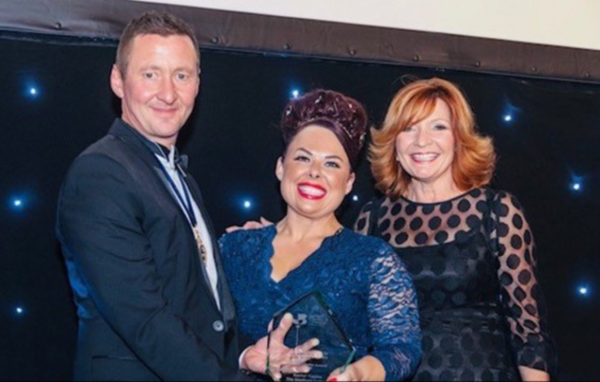 Sheffield Chamber of Commerce President's Annual Dinner award