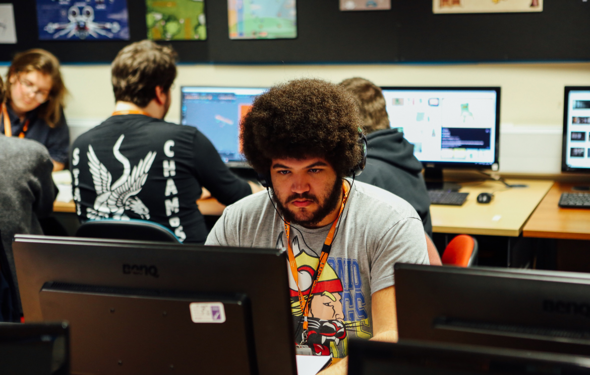 Games development students take part in the Global Jam 2020